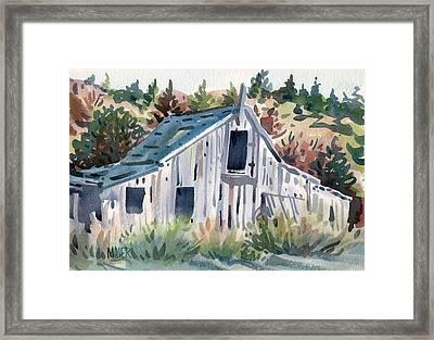 Folger's Barn Framed Print