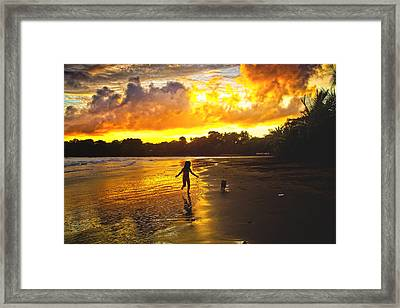 Follow Me  Framed Print by Iris Greenwell