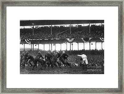 Football Game, 1925 Framed Print by Granger