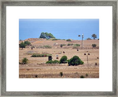 Forbidden Famagusta Framed Print