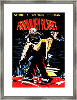 Forbidden Planet, Robby The Robot Framed Print