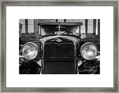 Ford Classic Framed Print by Colleen Kammerer