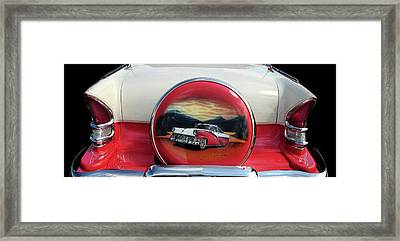 Ford Fairlane Rear Framed Print
