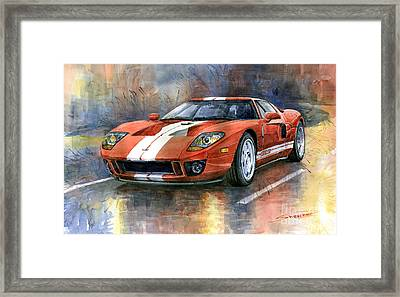 Ford Gt 40 2006  Framed Print