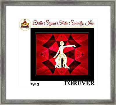 Forever Delta Framed Print