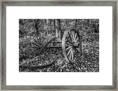 Forgotten Wagon Framed Print