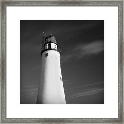 Framed Print featuring the photograph Fort Gratiot Lighthouse by Gordon Dean II