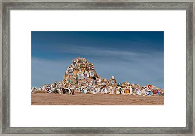 Fort Irwin Framed Print