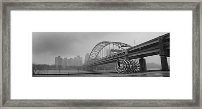 Fort Pitt Bridge Framed Print