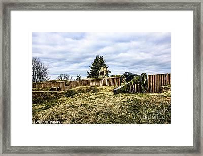 Fort Stevens Framed Print