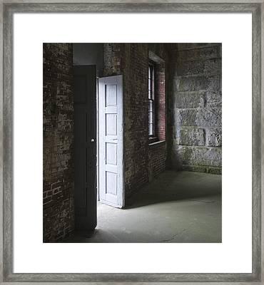 Fort Warren 7144 Framed Print