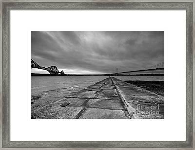 Forth Bridges Framed Print