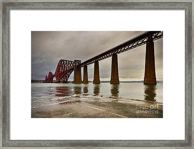 Forth Rail Bridge Framed Print by Nichola Denny