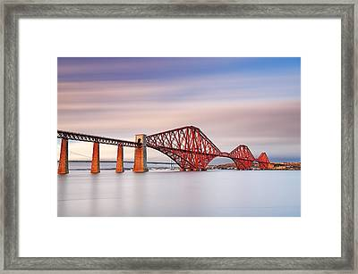 Forth Railway Bridge Framed Print