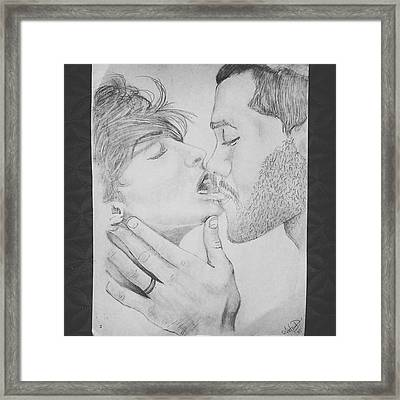 Make Me Lose My Breath Framed Print