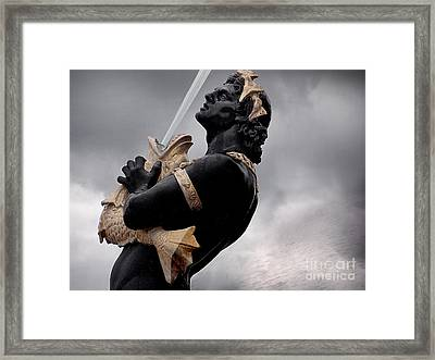 Fountain Of The Rivers  Framed Print