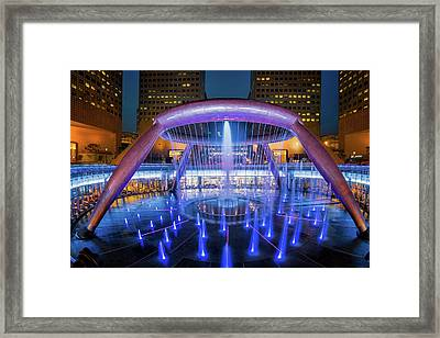 Fountain Of Wealth Framed Print by Anek Suwannaphoom