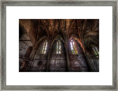 Four Arches Framed Print by Nathan Wright
