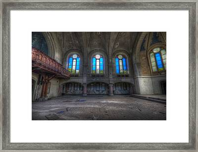 Four Windows Framed Print by Nathan Wright