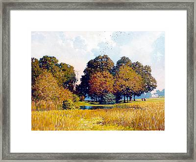 Foursome Framed Print by Kevin Lawrence Leveque
