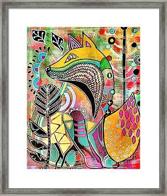 Fox Framed Print by Amy Sorrell