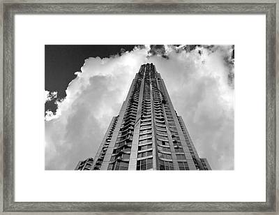 Frank Gehry High Rise Lower Manhattan Framed Print