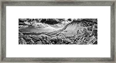 Frank Slide  Framed Print by Bryan Moore