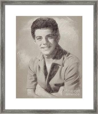 Frankie Avalon Singer Framed Print