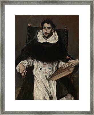 Fray Hortensio Felix Paravicino  Framed Print