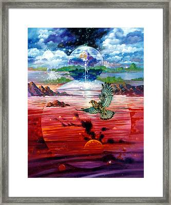 Free At Last Framed Print by John Lautermilch