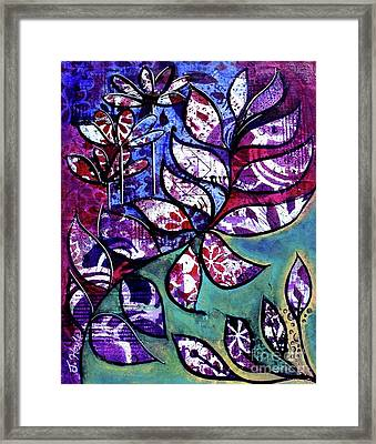 Framed Print featuring the painting Freedom by Julie Hoyle
