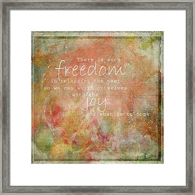 Freedom Framed Print by Margaret Goodwin