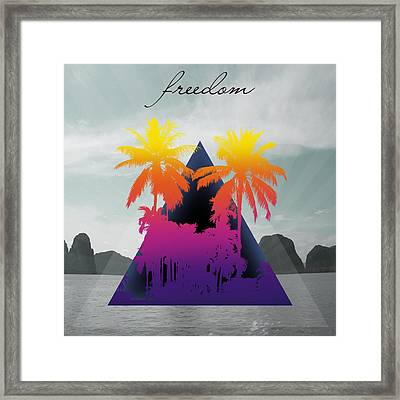 Freedom  Framed Print