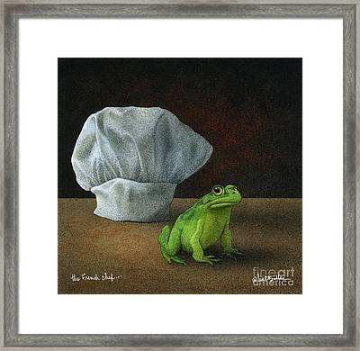French Chef... Framed Print