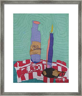 French Dining Framed Print by James Sheppardiii