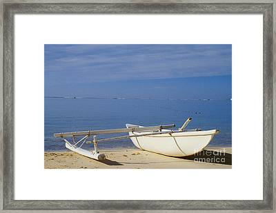 French Polynesia, Rangiro Framed Print by Mary Van de Ven - Printscapes