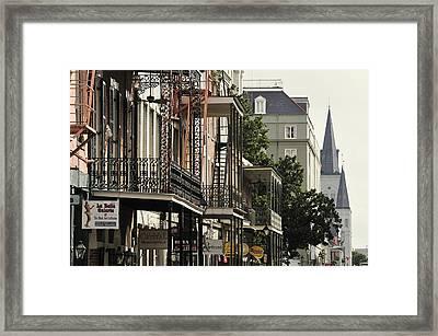 French Quarter Framed Print