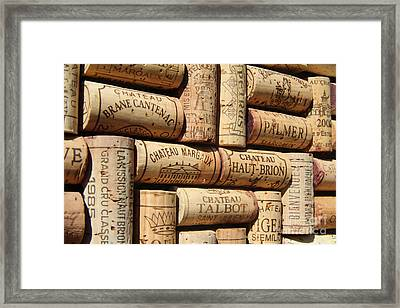 French Wines Framed Print by Anthony Jones