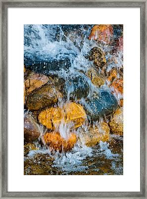 Framed Print featuring the photograph Fresh Water by Alexander Senin