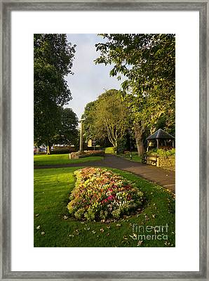Friary Gardens, Richmond Framed Print