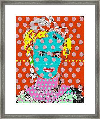 Frida Framed Print by Ricky Sencion