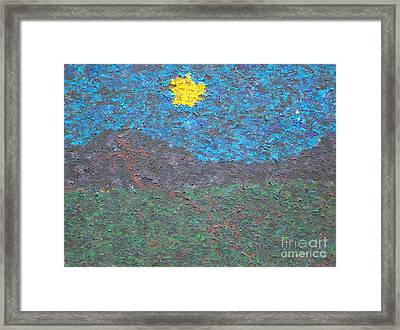 Friday At 3 Pm Framed Print