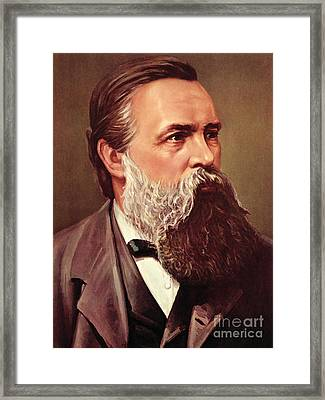Friedrich Engels Framed Print