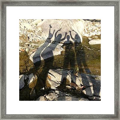 Friends Framed Print by Julie Niemela