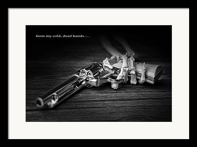 Gun Control Framed Prints