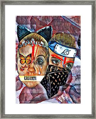 From Waif To Warrior Framed Print