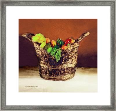 Fruit  Art 11 Framed Print