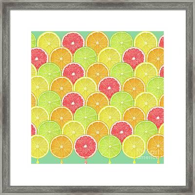 Fresh Fruit  Framed Print