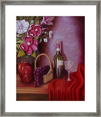 Fruit Of The Vine Framed Print by Gene Gregory