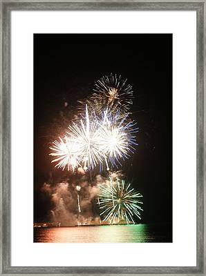 Fuegos Artificiales Framed Print by Stacy Spencer-Barclay
